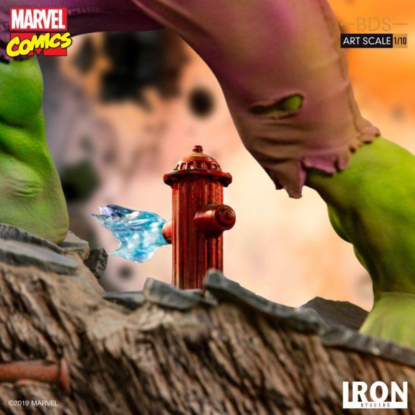 HULK STATUETTE 1-10 MARVEL COMICS BDS ART SCALE IRON STUDIOS 29 CM (9) 606529302917 kingdom-figurine.fr