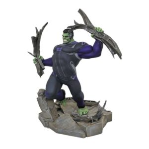 HULK TRACKSUIT STATUETTE AVENGERS ENDGAME MARVEL MOVIE GALLERY DIAMOND SELECT TOYS 23 CM (1) 699788833087 kingdom-figurine.fr