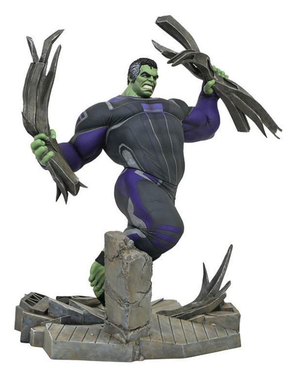 HULK TRACKSUIT STATUETTE AVENGERS ENDGAME MARVEL MOVIE GALLERY DIAMOND SELECT TOYS 23 CM (2) 699788833087 kingdom-figurine.fr