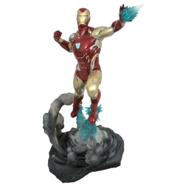 IRON MAN MK85 STATUETTE AVENGERS ENDGAME MARVEL MOVIE GALLERY DIAMOND SELECT TOYS 23 CM (1) 699788834831 kingdom-figurine.fr