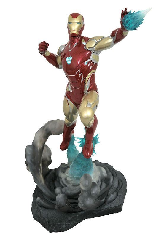 IRON MAN MK85 STATUETTE AVENGERS ENDGAME MARVEL MOVIE GALLERY DIAMOND SELECT TOYS 23 CM (1bis) 699788834831 kingdom-figurine.fr