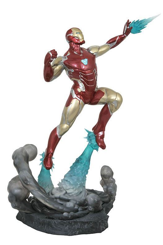 IRON MAN MK85 STATUETTE AVENGERS ENDGAME MARVEL MOVIE GALLERY DIAMOND SELECT TOYS 23 CM (2) 699788834831 kingdom-figurine.fr