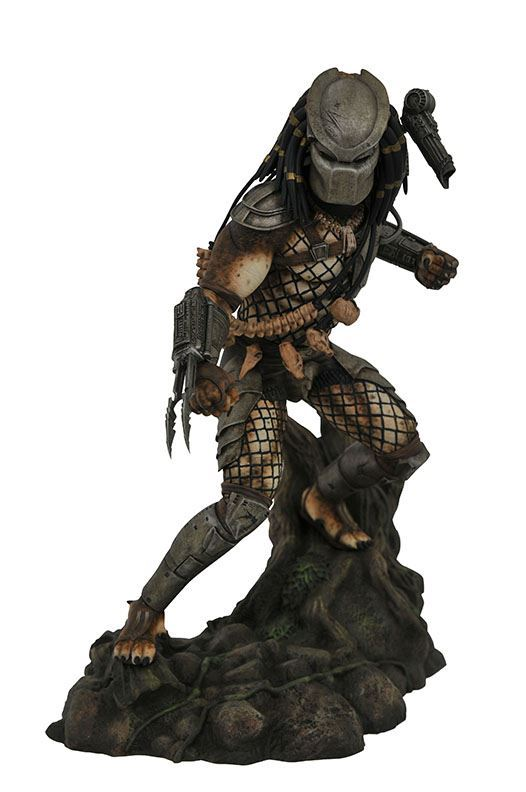 JUNGLE PREDATOR STATUETTE PREDATOR MOVIE GALLERY DIAMOND SELECT TOYS 25 CM (1bis) 699788835050 kingdom-figurine.fr