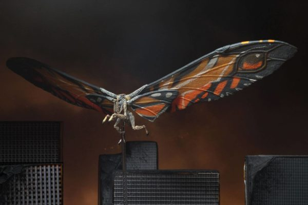 MOTHRA FIGURINE GODZILLA KING OF MONSTERS 2019 NECA 18 CM (3) 634482428887 kingdom-figurine.fr