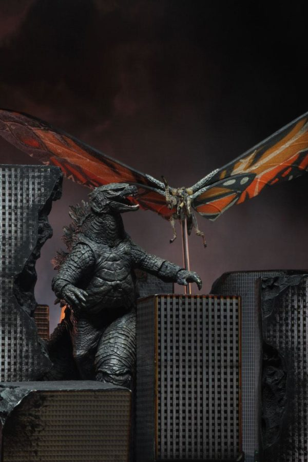 MOTHRA FIGURINE GODZILLA KING OF MONSTERS 2019 NECA 18 CM (5) 634482428887 kingdom-figurine.fr