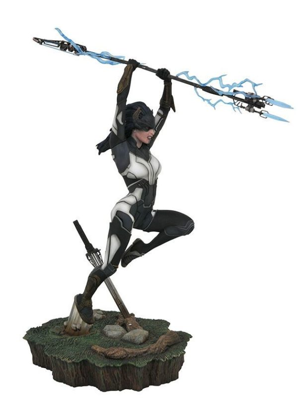 PROXIMA MIDNIGHT STATUETTE AVENGERS INFINITY WAR MARVEL MOVIE GALLERY DIAMOND SELECT TOYS 28 CM (1bis) 699788833575 kingdom-figurine.fr