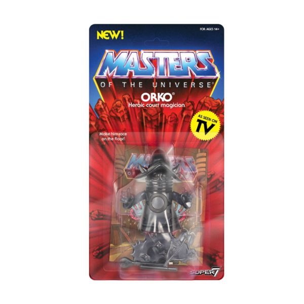 SHADOW ORKO FIGURINE MASTERS OF THE UNIVERSE VINTAGE COLLECTION SERIES 4 SUPER7 14 CM (2) 811169038243 kingdom-figurine.fr