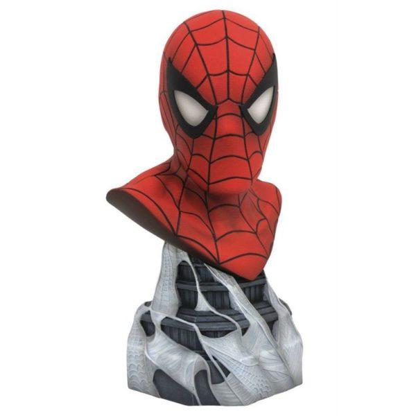 SPIDER-MAN BUSTE MARVEL COMICS LEGENDS IN 3D DIAMOND SELECT TOYS 25 CM (1) 699788830963 kingdom-figurine.fr