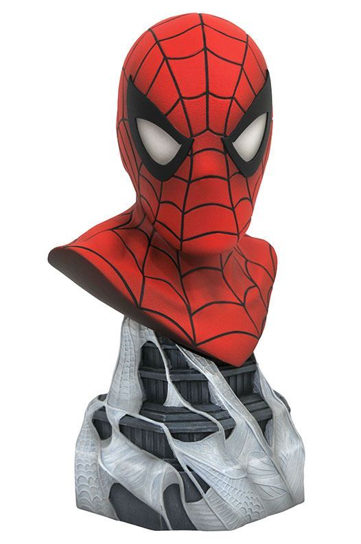 SPIDER-MAN BUSTE MARVEL COMICS LEGENDS IN 3D DIAMOND SELECT TOYS 25 CM (1bis) 699788830963 kingdom-figurine.fr