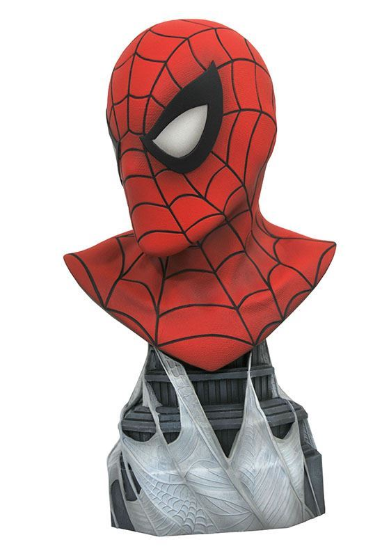 SPIDER-MAN BUSTE MARVEL COMICS LEGENDS IN 3D DIAMOND SELECT TOYS 25 CM (2) 699788830963 kingdom-figurine.fr