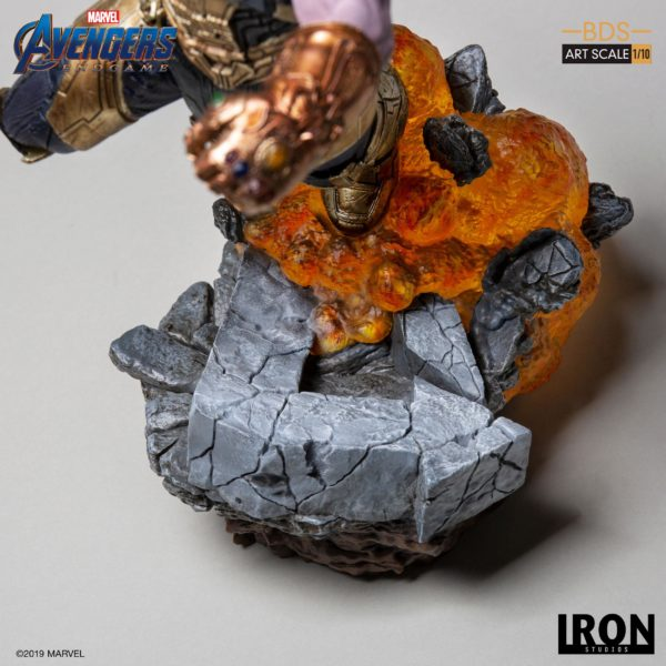 THANOS STATUETTE 1-10 AVENGERS ENDGAME BDS ART SCALE IRON STUDIOS 36 CM (11) 606529302733 kingdom-figurine.fr