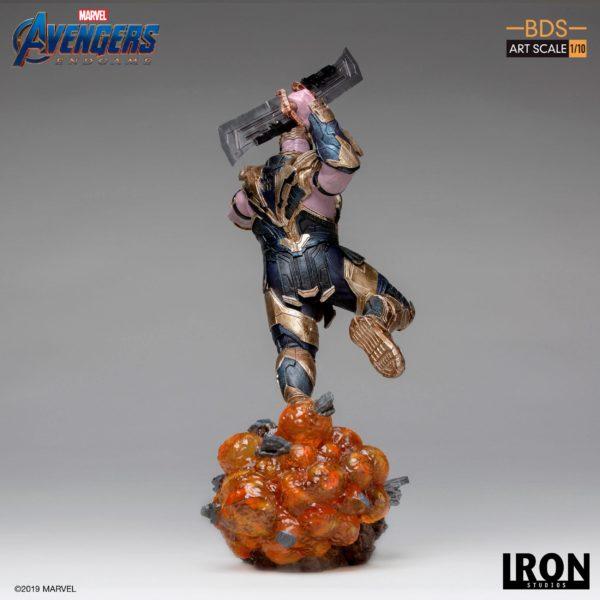 THANOS STATUETTE 1-10 AVENGERS ENDGAME BDS ART SCALE IRON STUDIOS 36 CM (4) 606529302733 kingdom-figurine.fr