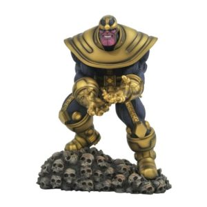 THANOS STATUETTE MARVEL COMIC GALLERY DIAMOND SELECT TOYS 23 CM 699788829233 kingdom-figurine.fr