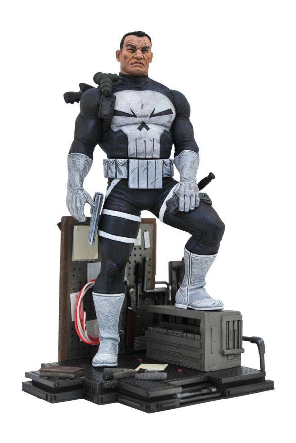THE PUNISHER STATUETTE MARVEL COMIC GALLERY DIAMOND SELECT TOYS 23 CM (1bis) 699788829356 kingdom-figurine.fr