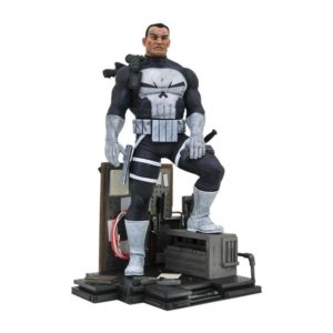 THE PUNISHER STATUETTE MARVEL COMIC GALLERY DIAMOND SELECT TOYS 23 CM 699788829356 kingdom-figurine.fr