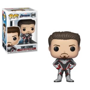 TONY STARK FIGURINE AVENGERS ENDGAME POP 449 FUNKO 889698366601 kingdom-figurine.fr