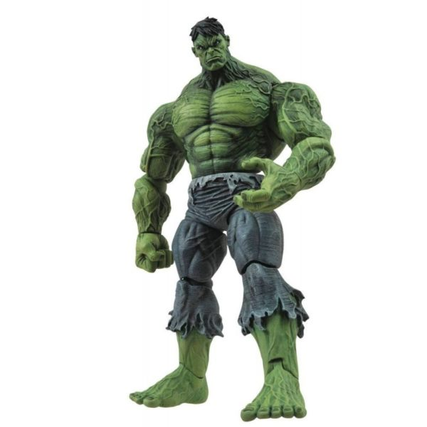 UNLEASHED HULK FIGURINE MARVEL SELECT DIAMOND SELECT TOYS 18 CM (1) 699788722770 kingdom-figurine.fr