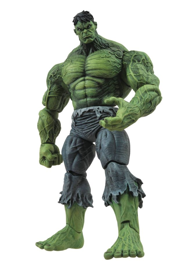 UNLEASHED HULK FIGURINE MARVEL SELECT DIAMOND SELECT TOYS 18 CM (1bis) 699788722770 kingdom-figurine.fr