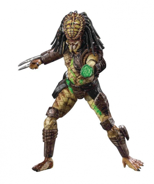 BATTLE DAMAGED CITY HUNTER PREDATOR FIGURINE 1-18 PREDATOR 2 HIYA TOYS 11 CM (0) 6957534200441 kingdom-figurine.fr