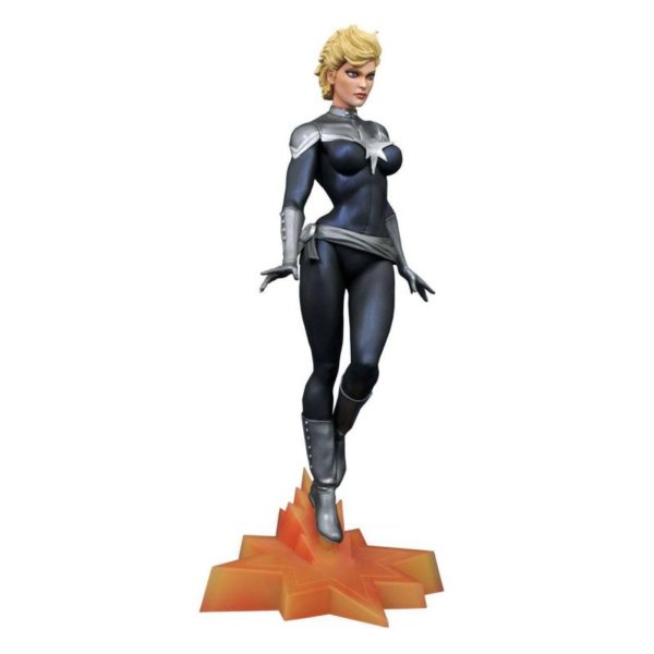 CAPTAIN MARVEL AGENT OF S.H.E.I.L.D. EXCLUSIVE SDCC 2019 STATUE MARVEL GALLERY DIAMOND SELECT TOYS 25 CM (1) 699788835791 kingdom-figurine.fr