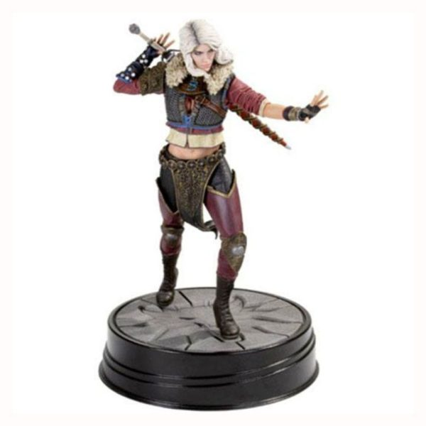 CIRI 2nd EDITION STATUETTE WITCHER 3 WILD HUNT DARK HORSE 20 CM 761568005288 kingdom-figurine.fr