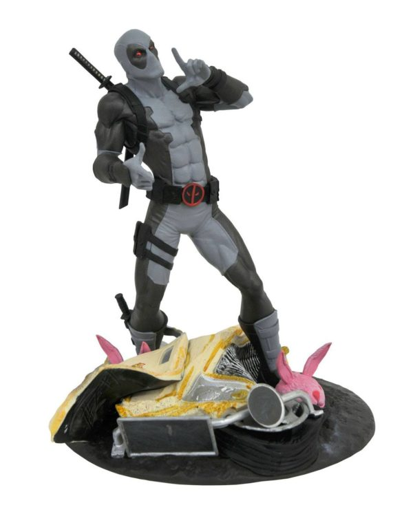 DEADPOOL X-FORCE TACO TRUCK SDCC 2019 EXCLUSIVE STATUE MARVEL GALLERY DIAMOND SELECT TOYS 25 CM (1bis) 699788835852 kingdom-figurine.fr