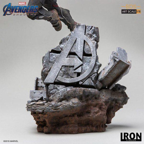 FALCON STATUETTE 1-10 AVENGERS ENDGAME BDS ART SCALE IRON STUDIOS 40 CM (6) 606529899615 kingdom-figurine.fr