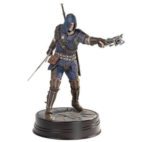 GERALT GRANDMASTER FELINE STATUETTE WITCHER 3 WILD HUNT DARK HORSE 27 CM (1) 761568005042 kingdom-figurine.fr