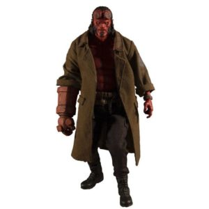 HELLBOY FIGURINE HELLBOY 2019 ONE 12 MEZCO TOYS 17 CM 696198775402 kingdom-figurine.fr