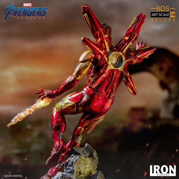 IRON MAN MARK LXXXV STATUE DELUXE 1-10 AVENGERS ENDGAME BDS ART SCALE IRON STUDIOS 29 CM (11) 606529899530 kingdom-figurine.fr