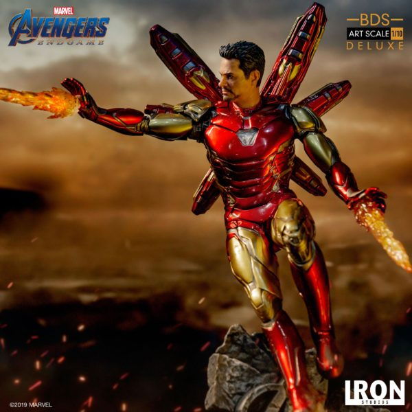 IRON MAN MARK LXXXV STATUE DELUXE 1-10 AVENGERS ENDGAME BDS ART SCALE IRON STUDIOS 29 CM (12) 606529899530 kingdom-figurine.fr
