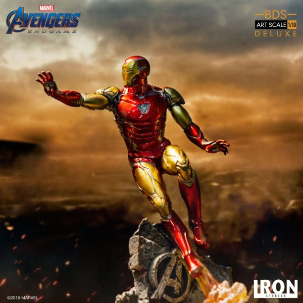 IRON MAN MARK LXXXV STATUE DELUXE 1-10 AVENGERS ENDGAME BDS ART SCALE IRON STUDIOS 29 CM (13) 606529899530 kingdom-figurine.fr