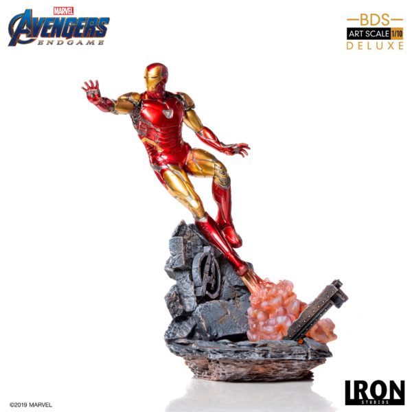 IRON MAN MARK LXXXV STATUE DELUXE 1-10 AVENGERS ENDGAME BDS ART SCALE IRON STUDIOS 29 CM (2) 606529899530 kingdom-figurine.fr