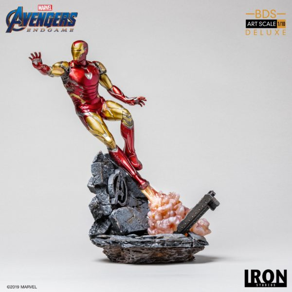 IRON MAN MARK LXXXV STATUE DELUXE 1-10 AVENGERS ENDGAME BDS ART SCALE IRON STUDIOS 29 CM (4) 606529899530 kingdom-figurine.fr