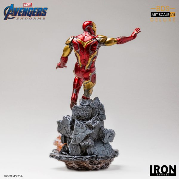 IRON MAN MARK LXXXV STATUE DELUXE 1-10 AVENGERS ENDGAME BDS ART SCALE IRON STUDIOS 29 CM (7) 606529899530 kingdom-figurine.fr