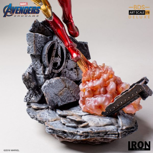 IRON MAN MARK LXXXV STATUE DELUXE 1-10 AVENGERS ENDGAME BDS ART SCALE IRON STUDIOS 29 CM (8) 606529899530 kingdom-figurine.fr