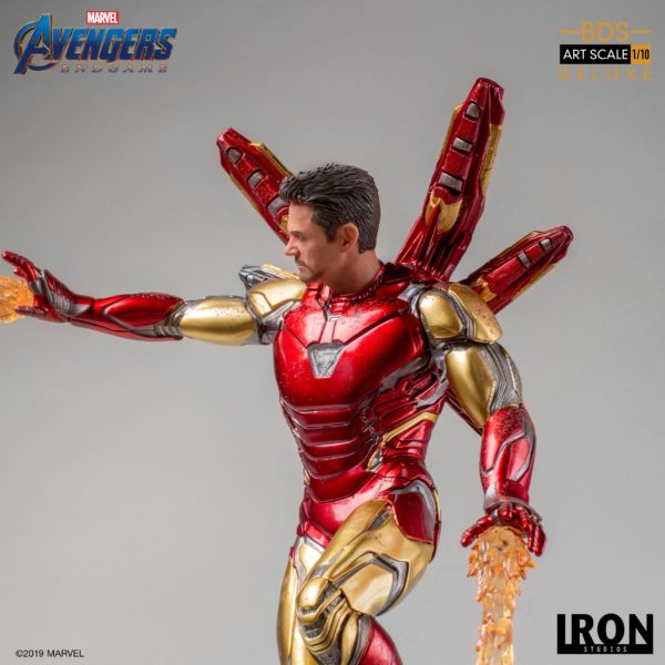 IRON MAN MARK LXXXV STATUE DELUXE 1-10 AVENGERS ENDGAME BDS ART SCALE IRON STUDIOS 29 CM (9) 606529899530 kingdom-figurine.fr