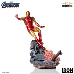 IRON MAN MARK LXXXV STATUETTE 1-10 AVENGERS ENDGAME BDS ART SCALE IRON STUDIOS 29 CM (1) 606529899523 kingdom-figurine.fr
