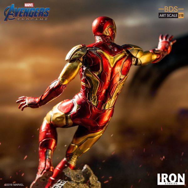 IRON MAN MARK LXXXV STATUETTE 1-10 AVENGERS ENDGAME BDS ART SCALE IRON STUDIOS 29 CM (10) 606529899523 kingdom-figurine.fr