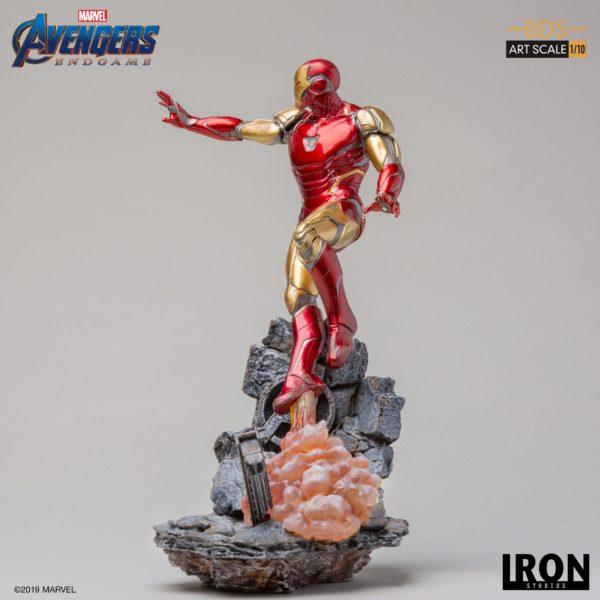 IRON MAN MARK LXXXV STATUETTE 1-10 AVENGERS ENDGAME BDS ART SCALE IRON STUDIOS 29 CM (3) 606529899523 kingdom-figurine.fr