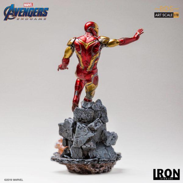 IRON MAN MARK LXXXV STATUETTE 1-10 AVENGERS ENDGAME BDS ART SCALE IRON STUDIOS 29 CM (5) 606529899523 kingdom-figurine.fr