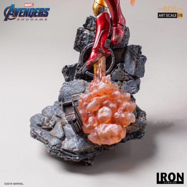 IRON MAN MARK LXXXV STATUETTE 1-10 AVENGERS ENDGAME BDS ART SCALE IRON STUDIOS 29 CM (6) 606529899523 kingdom-figurine.fr