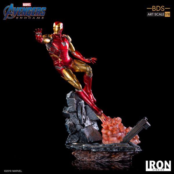 IRON MAN MARK LXXXV STATUETTE 1-10 AVENGERS ENDGAME BDS ART SCALE IRON STUDIOS 29 CM (8) 606529899523 kingdom-figurine.fr