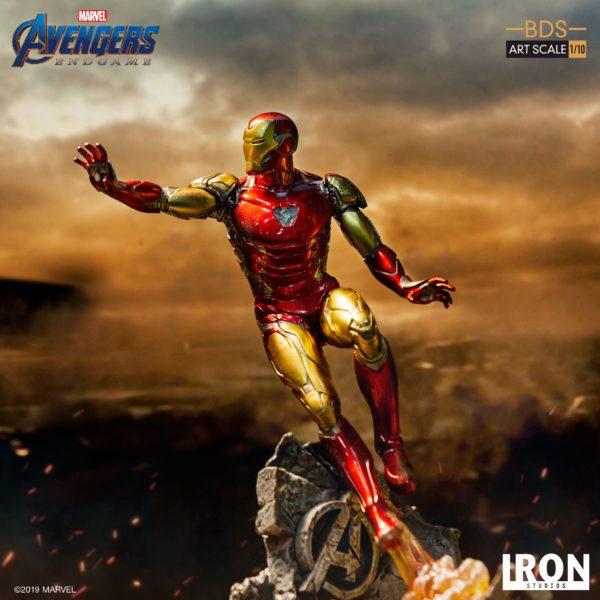 IRON MAN MARK LXXXV STATUETTE 1-10 AVENGERS ENDGAME BDS ART SCALE IRON STUDIOS 29 CM (9) 606529899523 kingdom-figurine.fr