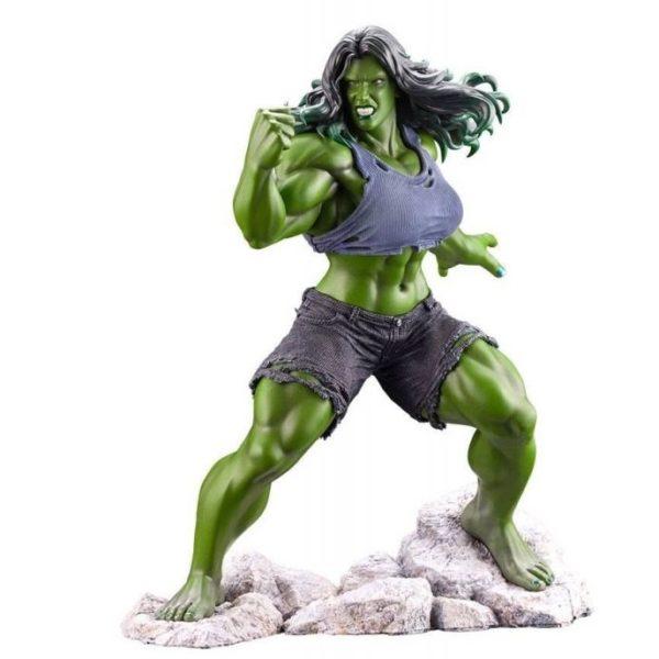 SHE-HULK STATUETTE ARTFX PREMIER 1-10 MARVEL UNIVERSE KOTOBUKIYA 21 CM (0) 4934054010561 kingdom-figurine.fr