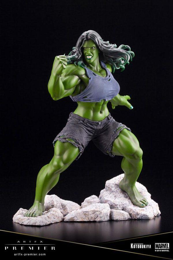 SHE-HULK STATUETTE ARTFX PREMIER 1-10 MARVEL UNIVERSE KOTOBUKIYA 21 CM (2) 4934054010561 kingdom-figurine.fr