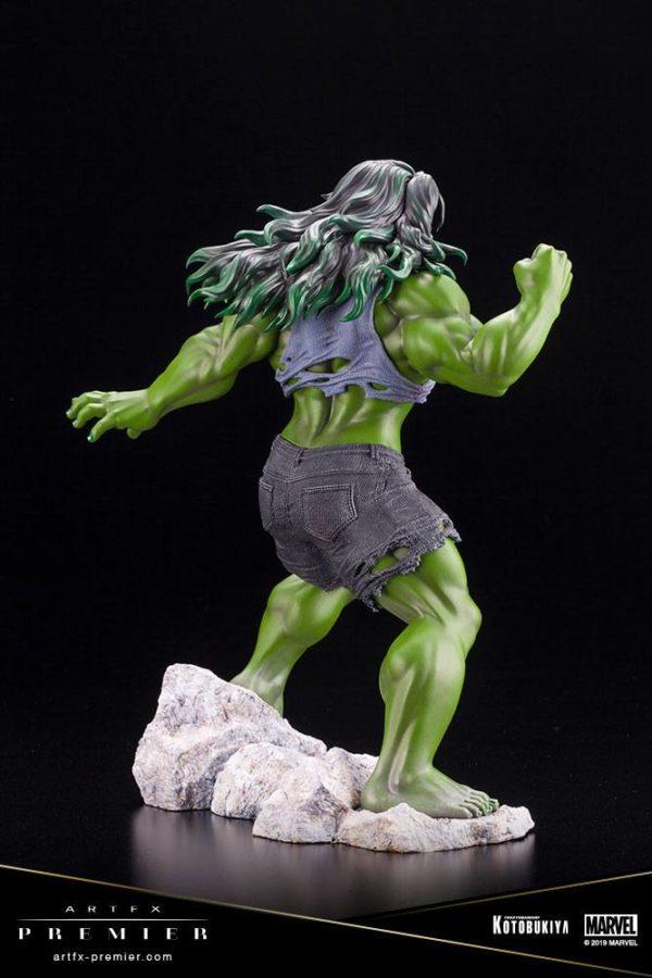 SHE-HULK STATUETTE ARTFX PREMIER 1-10 MARVEL UNIVERSE KOTOBUKIYA 21 CM (7) 4934054010561 kingdom-figurine.fr