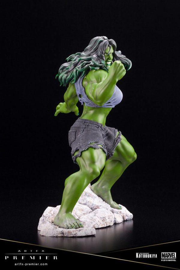 SHE-HULK STATUETTE ARTFX PREMIER 1-10 MARVEL UNIVERSE KOTOBUKIYA 21 CM (8) 4934054010561 kingdom-figurine.fr
