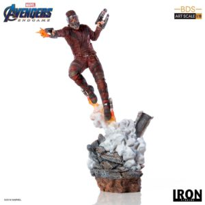 STAR-LORD STATUETTE 1-10 AVENGERS ENDGAME BDS ART SCALE IRON STUDIOS 31 CM (1) 606529899561 kingdom-figurine.fr