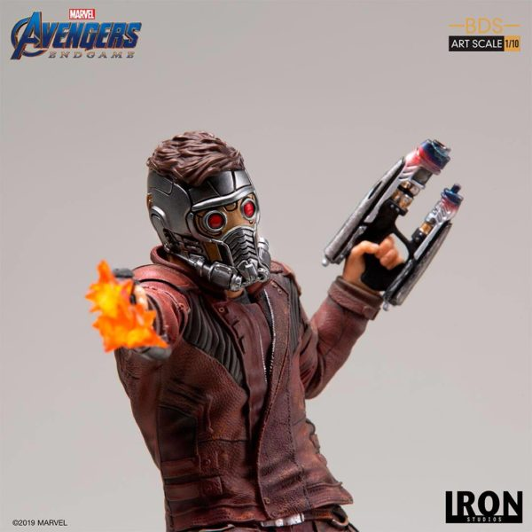 STAR-LORD STATUETTE 1-10 AVENGERS ENDGAME BDS ART SCALE IRON STUDIOS 31 CM (10) 606529899561 kingdom-figurine.fr
